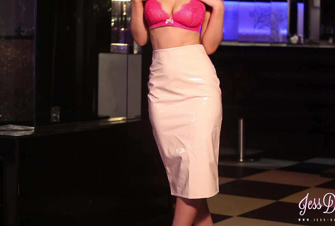 Pink Bikini Outdoors